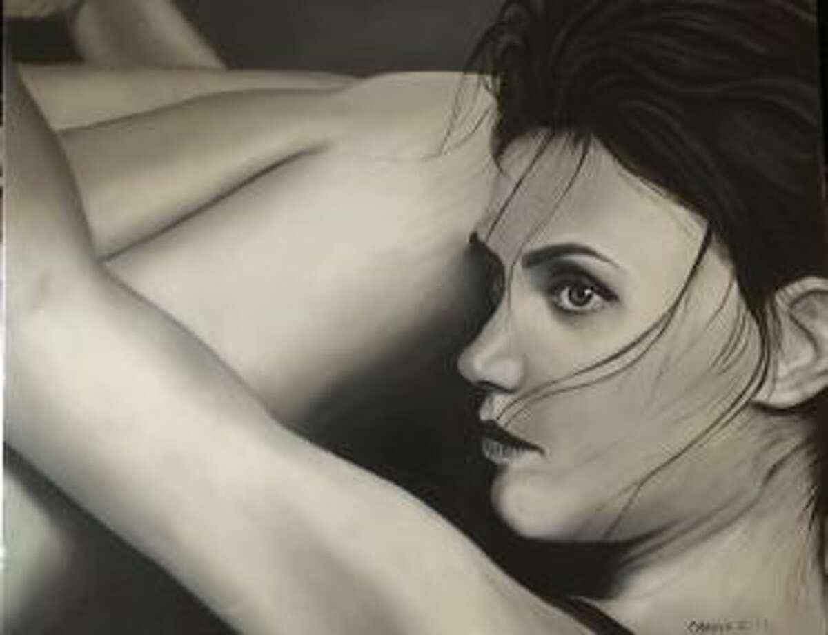 Lady from a Distance by Carina Imbrogno will be on display at the exhibit.