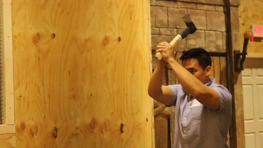 Blow off some of that stormy-day steam by hurling an axe towards a bullseye. At Class Axe Throwing, you'll learn how to properly throw an axe, then face off with your friends or family for the Axe Throwing Champion crown. The S.A. location (1113 E Houston St) opens at 6 p.m. on weekdays and at noon on the weekend. Photo: Mysa