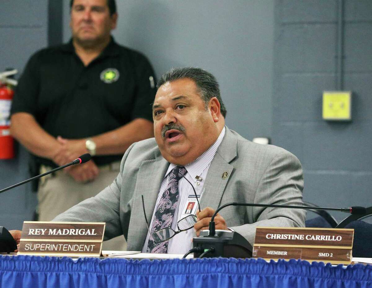 It's been a bumpy ride at Harlandale ISD - and the state has finally intervened. Former Superintendent Rey Madrigal, pictured here, is out. A new superintendent is in, and our hope is state intervention leads to a greater focus on the kids.