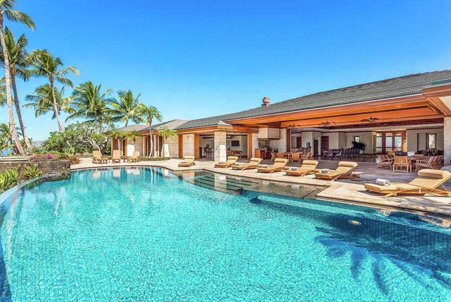 This seven-bedroom beachfront villa on the Kohala Coast of Hawaii's Big Island goes for $8,500 a night. Photo: Airbnb