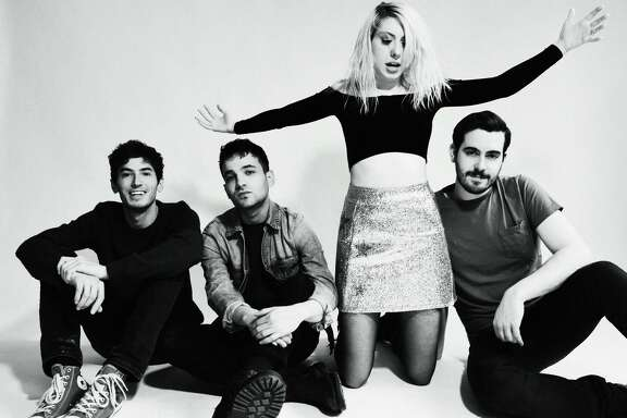 Rock band Charly Bliss is Eva Hendricks, Sam Hendricks, Dan Shure and Spencer Fox