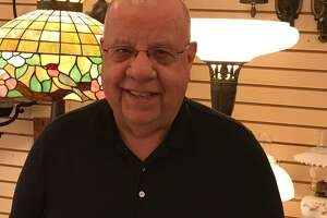 Republican Councilman John LeTourneau is shown at his Center Street business, Wallingford Lamp & Shade on Tuesday June 25. LeTourneau announced that he will not run again for his council seat in November, He has served in the council for 12 years