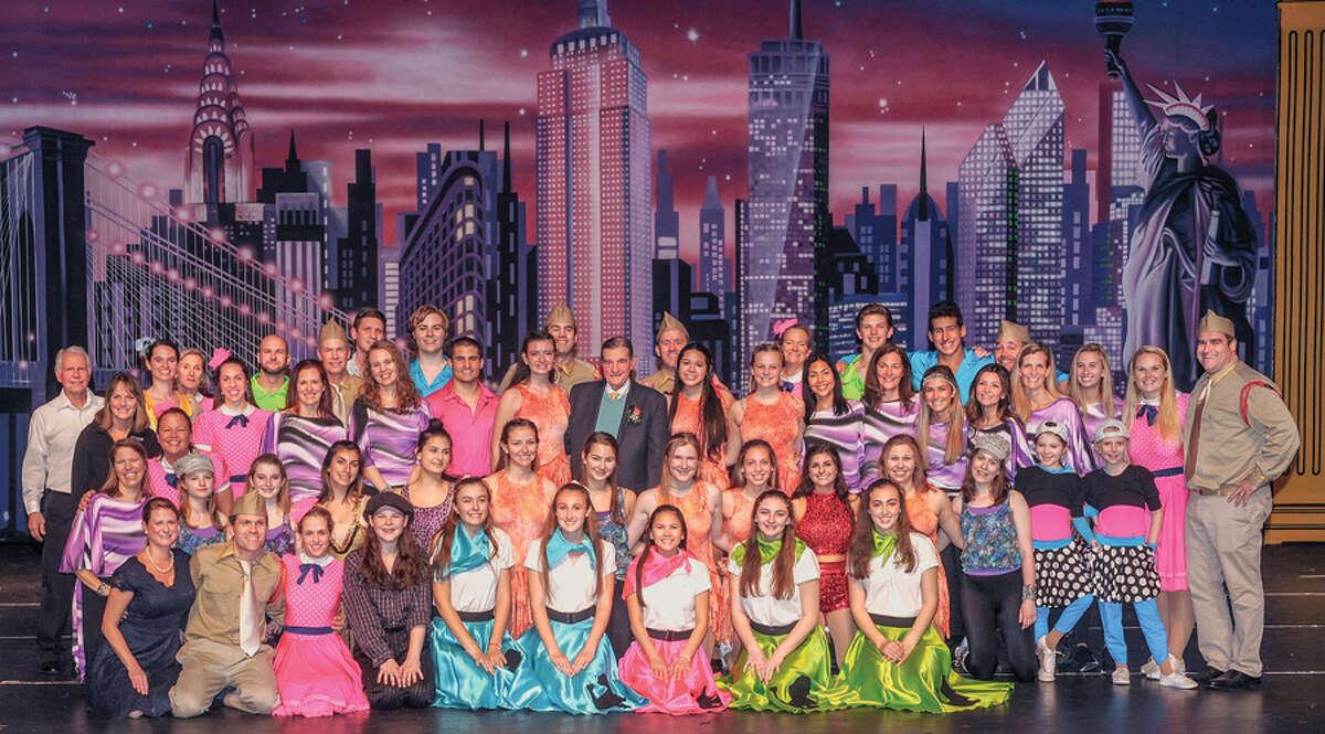 The Wilton cast from the Walter Schalk School of Dance's final Spring Revue in March 2019. - Walter Schalk School of Dance / Contributed photo