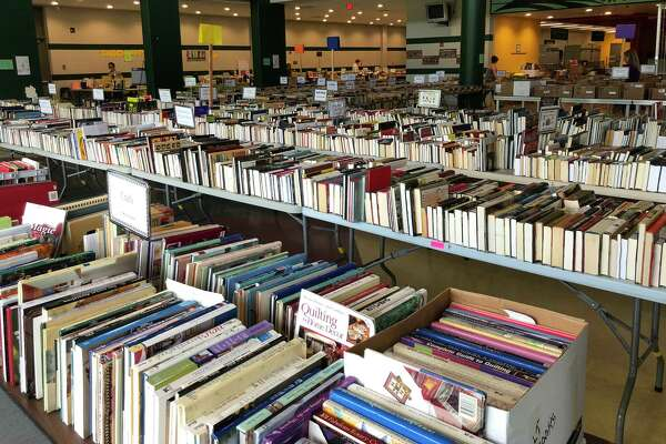 The FRIENDS of New Milford Public Library will hold its annual book sale July 11-13 at New Milford High School on Route 7. The sale will feature thousands of good quality, well-organized fiction and nonfiction books, children's books, trade books, paperbacks, vintage collectible books, CDs, DVDs and audio books, as shown above at a past sale.