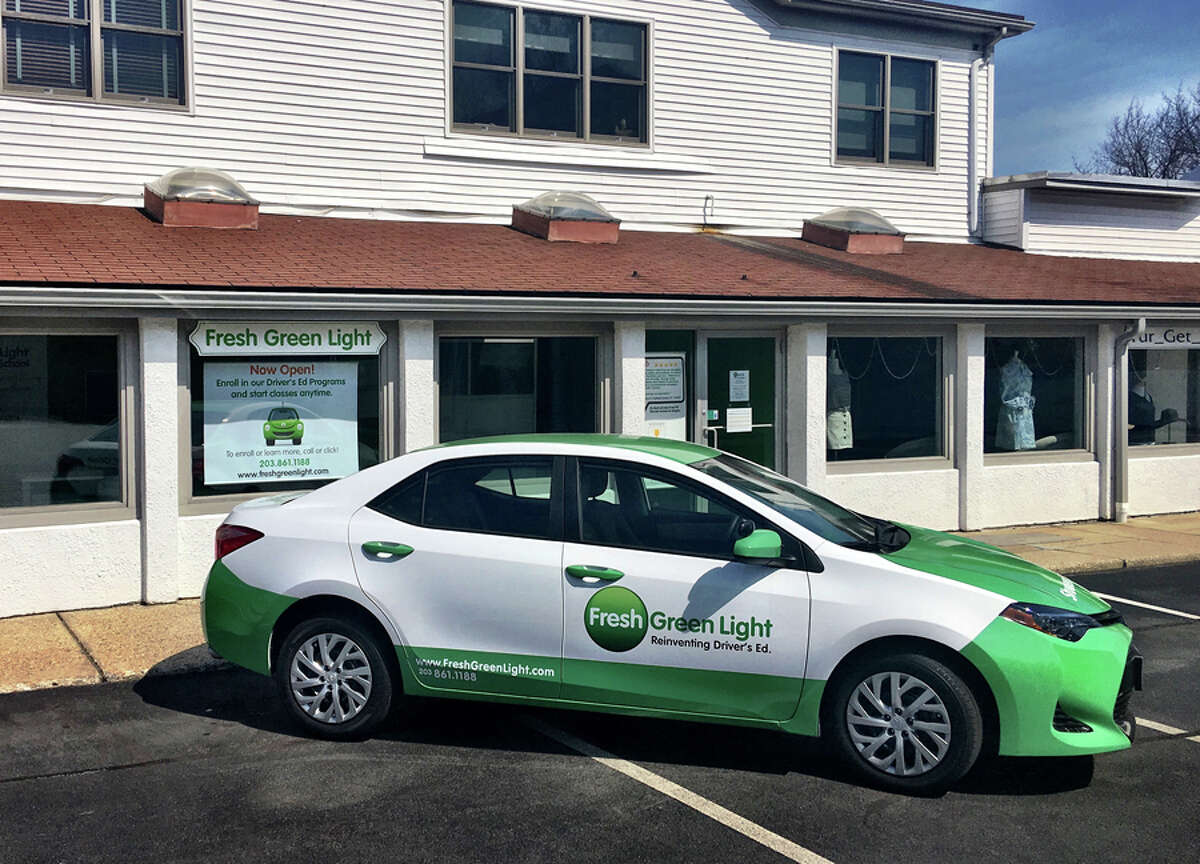 Fresh Green Light has opened a driving school at 111 Cherry St. in New Canaan. - Contributed photo