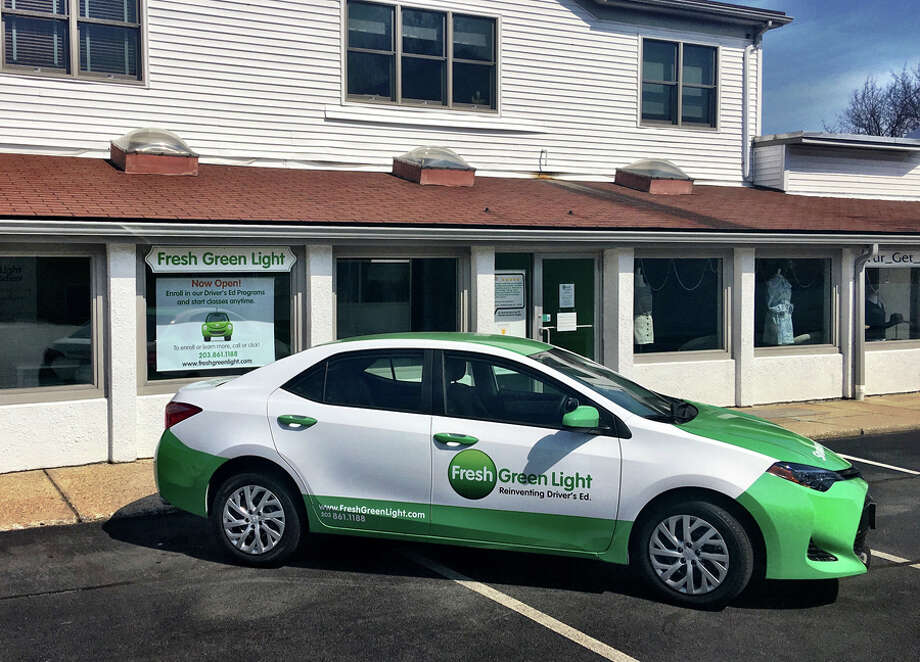 Fresh Green Light has opened a driving school at 111 Cherry St. in New Canaan. — Contributed photo / Connecticut Post