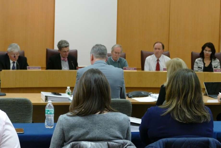 Town Council during budget discussions. — Grace Duffield photo