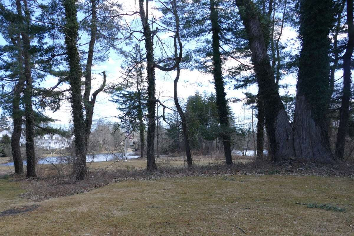 View toward the park, behind the barn. - Grace Duffield photo