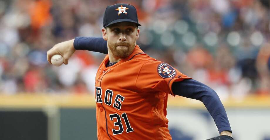 PHOTOS: Astros game-by-game Houston Astros starting pitcher Collin McHugh (31) pitches during the first inning of an MLB baseball game at Minute Maid Park, in Houston, Friday, April 26, 2019. Browse through the photos to see how the Astros have fared in each game this season. Photo: Karen Warren/Staff Photographer