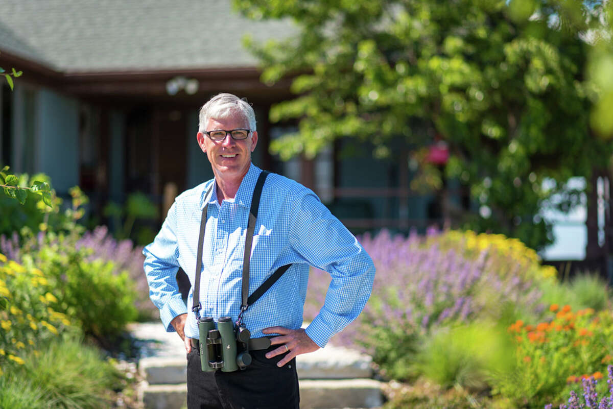 Patrick Comins, executive director of the Connecticut Audubon Society, will talk about how native trees, shrubs and other plants can help bring one's yard to life Thursday, April 4 at 6:30 p.m. at the New Canaan Library. - New Canaan Library / Contributed photo