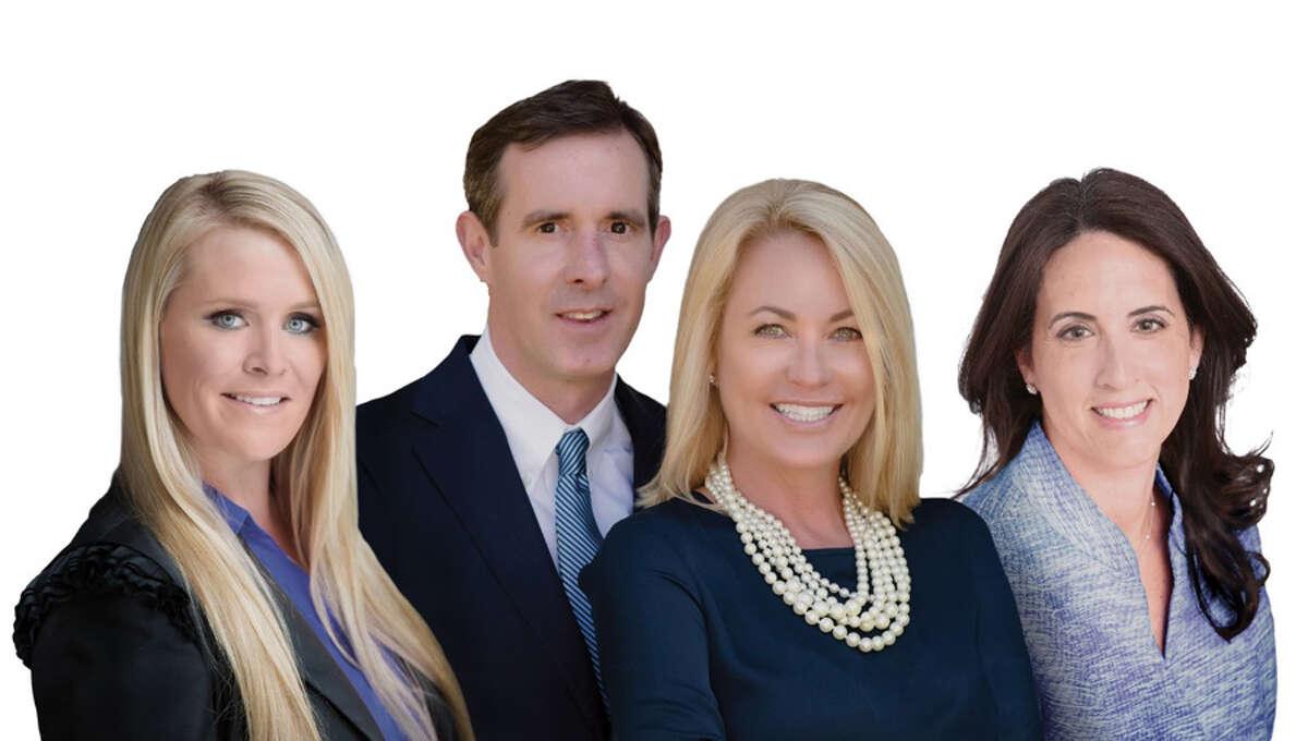 Top agents at William Pitt Sotheby's International Realty are The Sneddon Team in New Canaan, Ashley Petraska,JaimeSneddon, KendallSneddon, and Bonnie Sztam. - William Pitt Sotheby's International Realty / Contributed photo