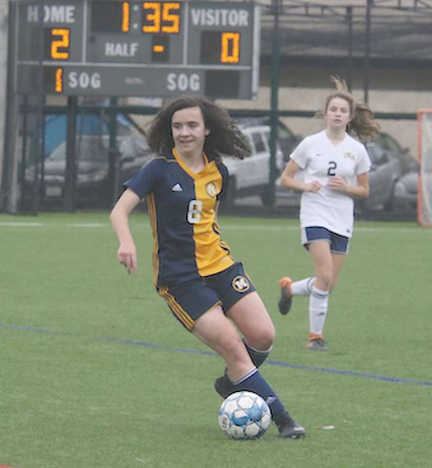 Sophie Jones become Menlo School-Atherton's first Gatorade State Player Of The Year winner in the 34-year history of the awards. The senior midfielder led the Knights to a 20-2-2 record and a Central Coast Section Div. I championship Photo: SportStars Magazine