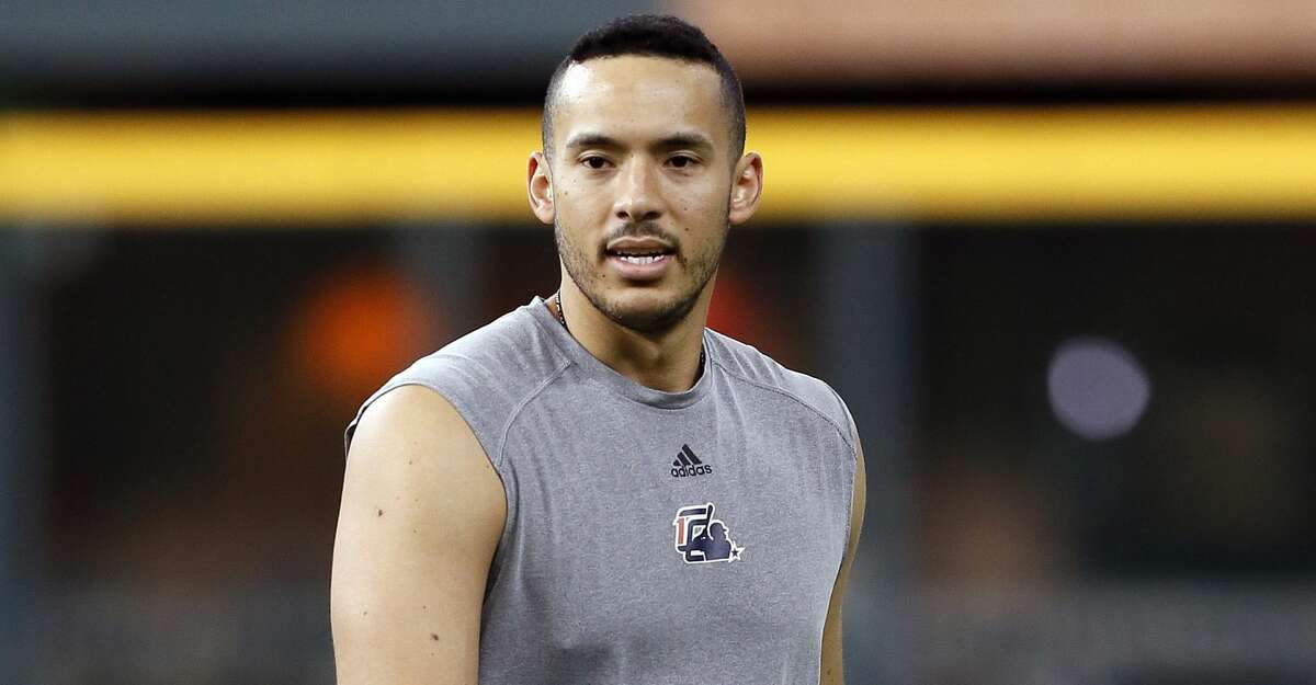 PHOTOS: Astros game-by-game Carlos Correa of the Houston Astros works out at Minute Maid Park on June 25, 2019 in Houston, Texas. Correa has been on the injured list with a broken rib and is not expected to be back until after All-Star break.(Photo by Bob Levey/Getty Images) Browse through the photos to see how the Astros have fared in each game this season.