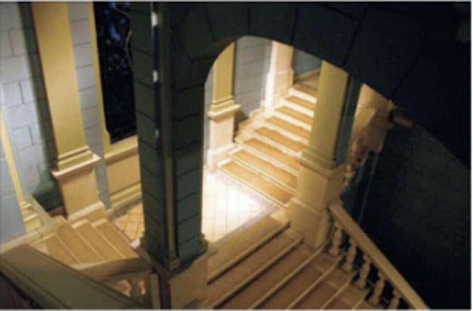 New Canaan artist and photographer Norm Jensen took this photo of Escher Stairs at the Bergen Museum Church Art University in Bergen, Norway. It has been accepted to a juried show opening this weekend at Rowayton Arts Center. Norm Jensen / Contributed photo