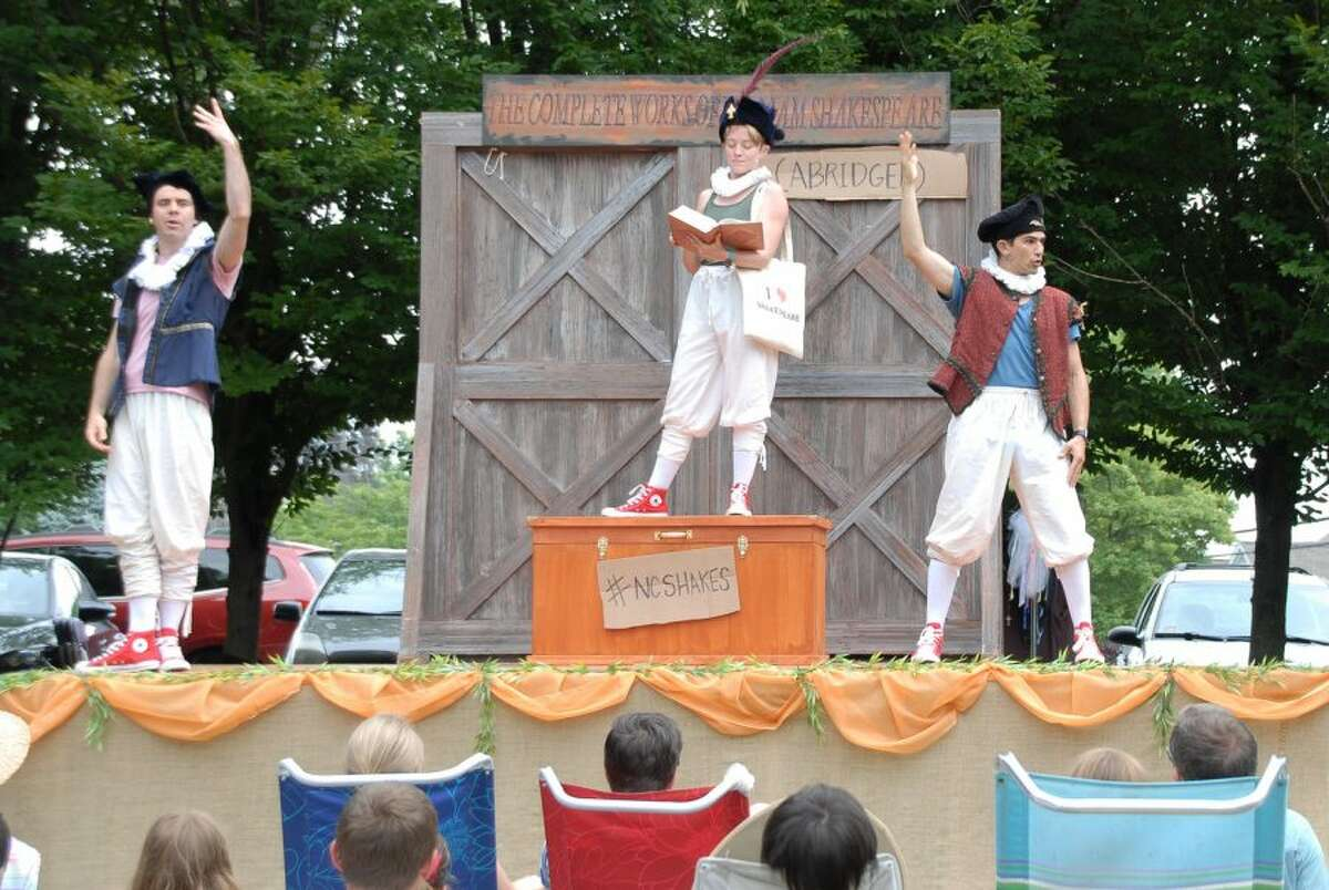 There are shaky previews for the Summer Theatre in downtown New Canaan. Pictured is a previous Summer Theatre production from this past Summer 2018.