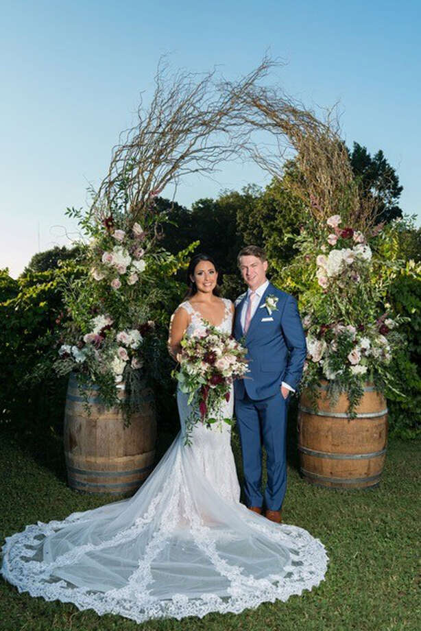 Benjamin Nottingham of New Canaan married Samantha Valerio in September. / Connecticut Post