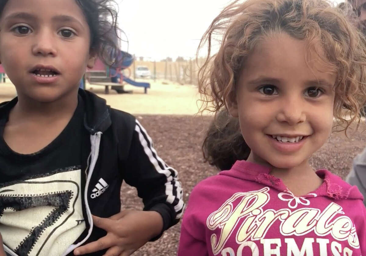 Blossom Hill impacts the lives of refugee children through fellowships. Refugee children play on the grounds of the new school that is being built byBlossomHill Fellow Lexi Shereshewsky in Azraq, Jordan. Parents of these children have been hired as construction workers to help build the school.