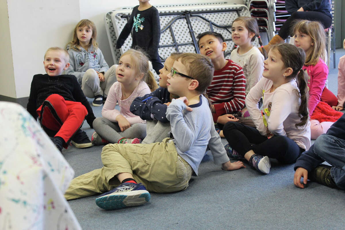 Schoolchildren recently participated in Vacation Camp at the New Canaan YMCA.
