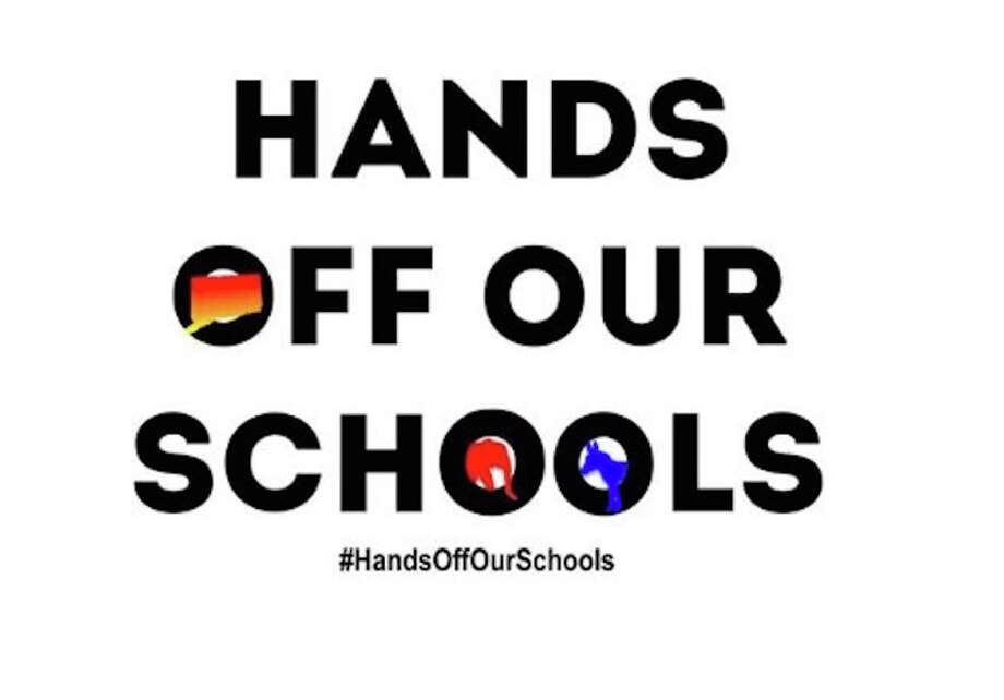 A rally against a bill to regionalize schools takes place this Saturday, Feb. 23, 2019.