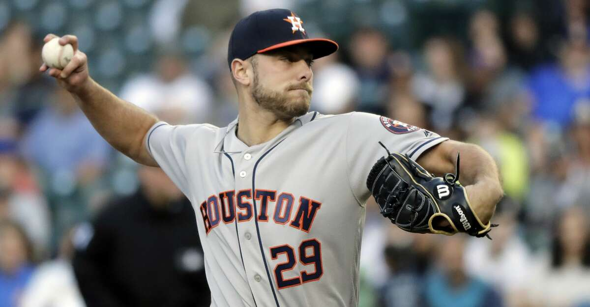 PHOTOS: Astros game-by-game Houston Astros starting pitcher Corbin Martin throws against the Seattle Mariners during the first inning of a baseball game, Monday, June 3, 2019, in Seattle. (AP Photo/Ted S. Warren) Browse through the photos to see how the Astros have fared in each game this season.