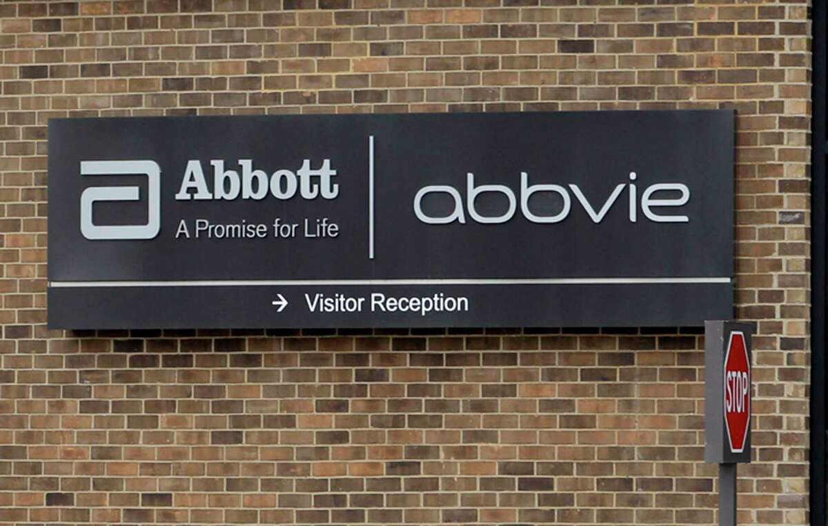 FILE - This Jan. 24, 2015, file photo, shows the exterior of AbbVie, in Lake Bluff, Ill. AbbVie is buying Botox maker Allergan in a cash-and-stock deal the drugmakers value at around $63 billion. The maker of the blockbuster immune disorder treatment Humira said Tuesday, June 25, 2019, that it will pay $120.30 in cash and a portion of AbbVie stock for each Allergan share. (AP Photo/Nam Y. Huh, File)