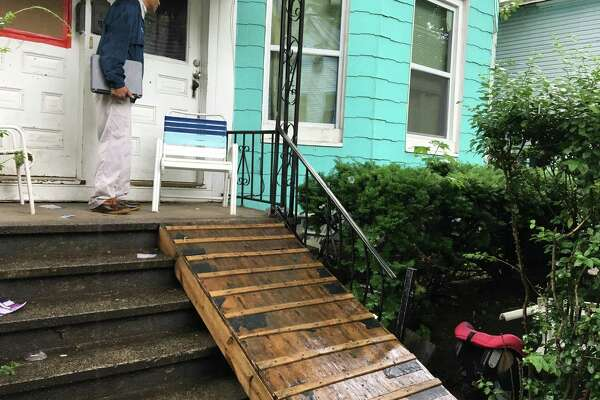 Official 'walk' in New Haven finds illegal apartments, other blight