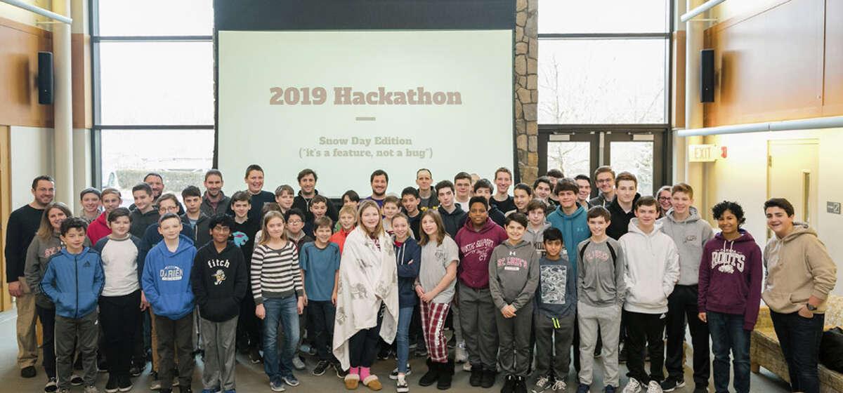 Participants at St. Luke's Hackathon 2019. Photo credit: Keyz 2 Life Media