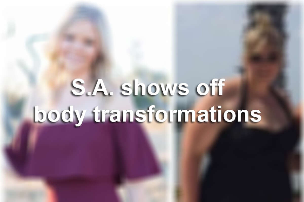 San Antonians show off their body transformations.