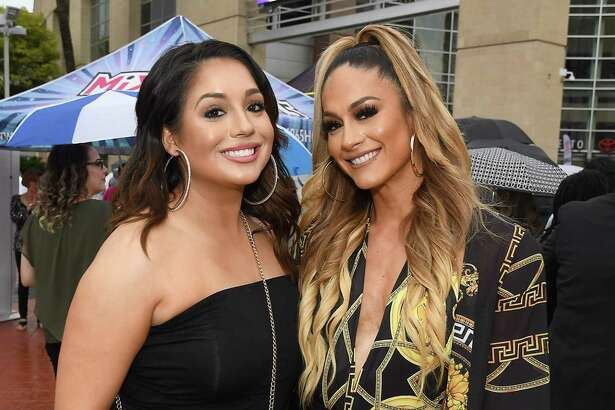 Fans of Jennifer Lopez outside her concert at the Toyota Center Tuesday June 25, 2019.(Dave Rossman Photo)