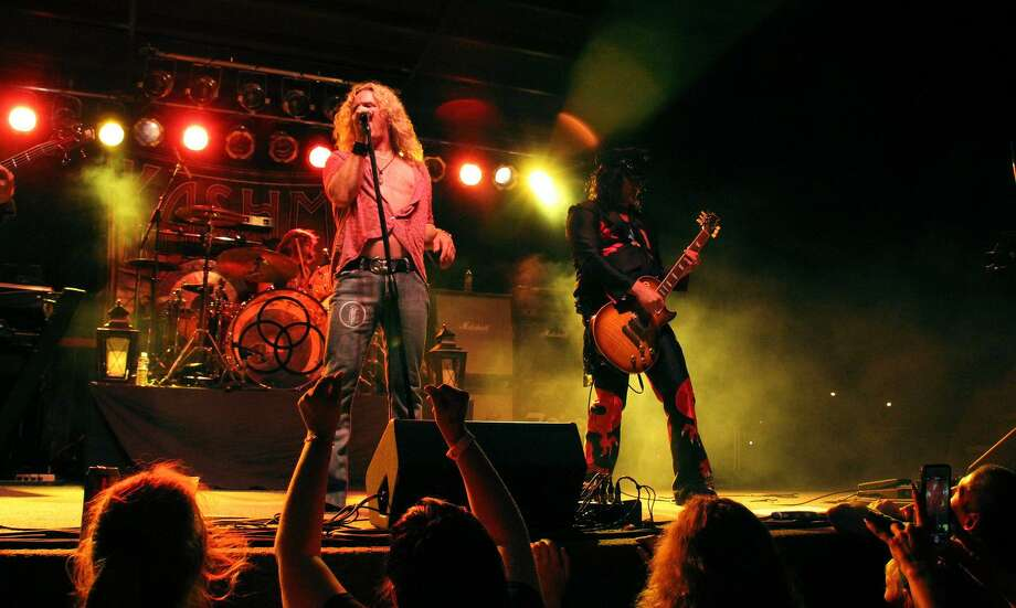 The Led Zeppelin Tribute Band Kashmir is performing Saturday at the Warner Theatre in Torrington. Photo: Kashmir / Contributed Photo /