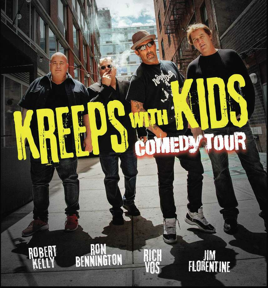 In September, the Warner Theatre will welcome comedian Kevin James; in November, comedians Robert Kelly, Ron Bennington, Rich Vos and Jim Florentine are scheduled to perform their Kreeps With Kids Comedy Tour. Photo: Contributed Photo /