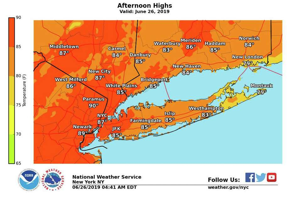 Slightly above normal temperatures today. A late day or evening thunderstorm is possible for parts of the area. Photo: /