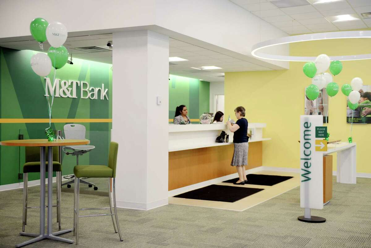 M&T Bank unveils its newly renovated downtown Albany bank branch on Tuesday, June 25, 2019, in Albany, N.Y. (Catherine Rafferty/Times Union)