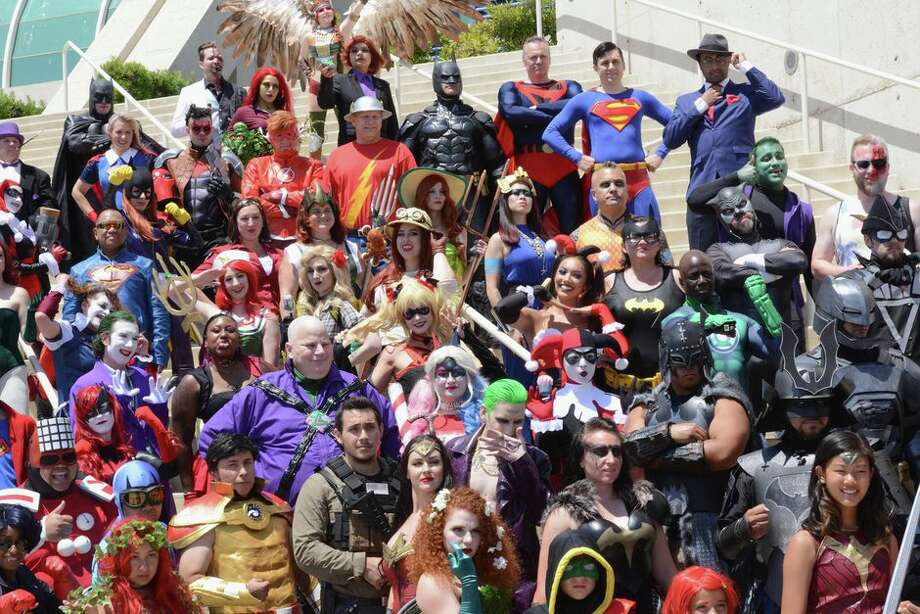 Cosplayers flock to SDCC every year with capes and wigs in tow. Photo: Albert L. Ortega/Getty Images