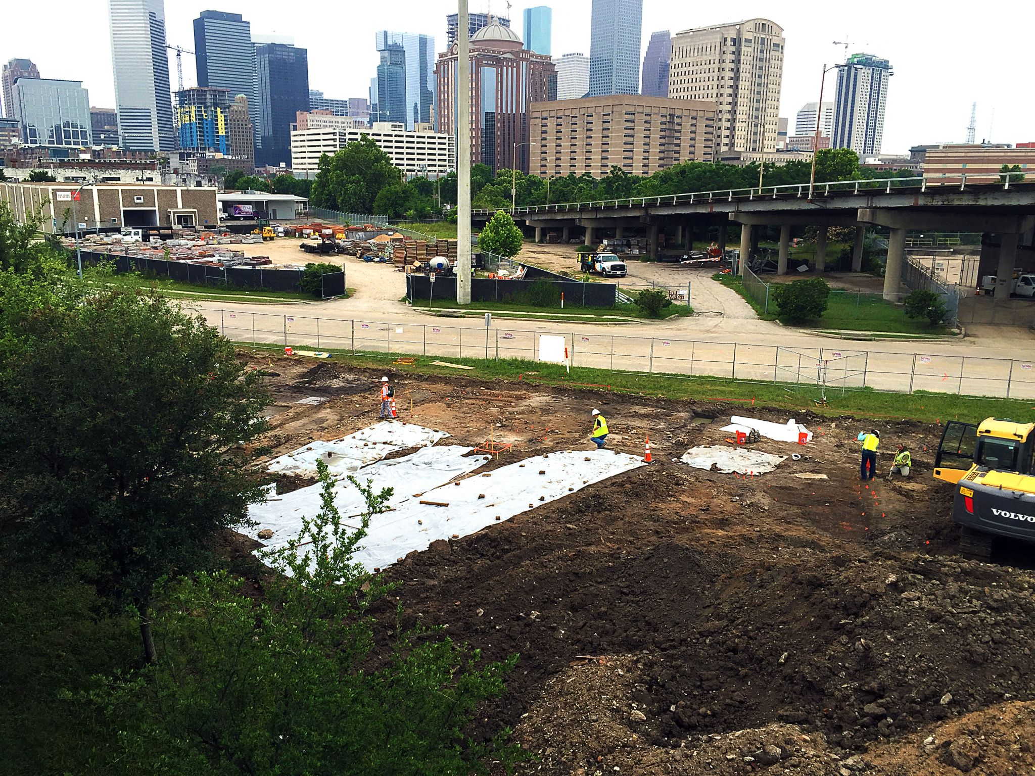 Archaeologists discover more than 150,000 historical artifacts near downtown Houston