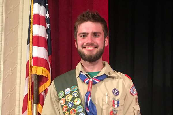 Chester/Deep River Boy Scout Troop 13's newest Eagle Scout is Edward Lenz of Deep River.