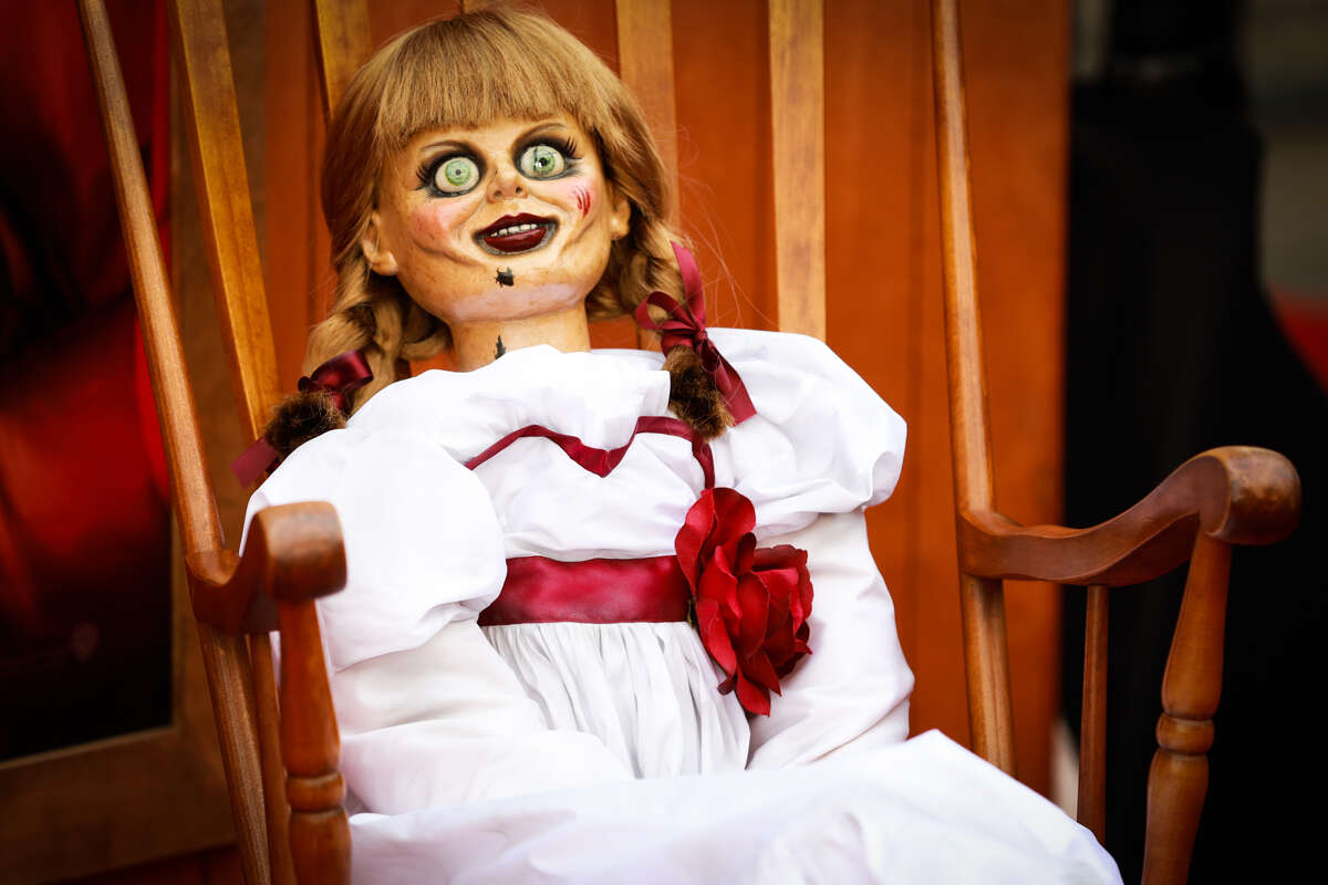 Annabelle, a demonic doll, is aid by paranormal investigators demonologists Lorraine and Ed Warren to be haunted.