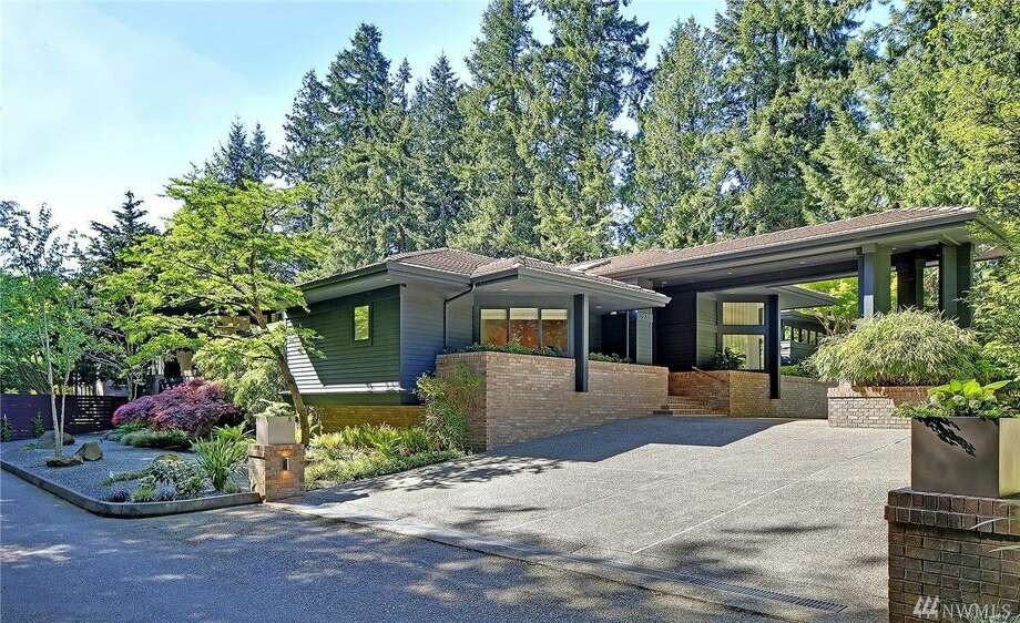 1237 Evergreen Point Road, listed for $5,688,000. See the full listing here. Photo: Tucker English