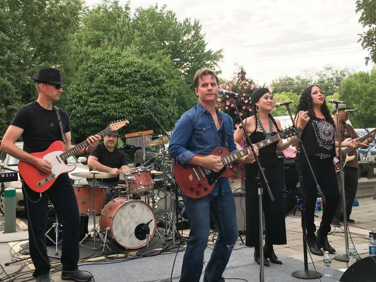 Darien Summer Nights concert series, including CC Legend, above, returns this month.