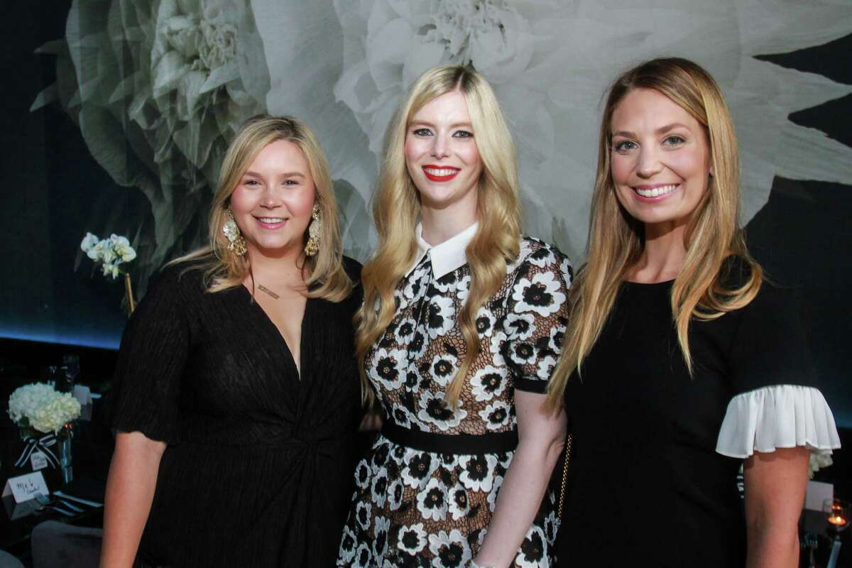 Mari Trevino Glass, Kimberly Falgout Scheele and Elise Lubanko