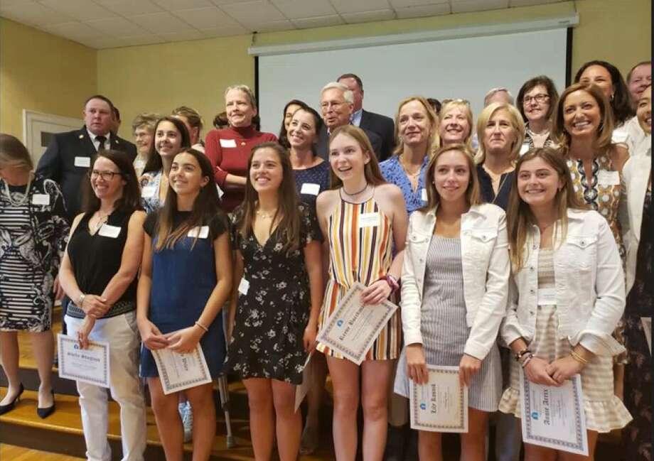 Volunteers and nonprofits are honored at luncheon. — Sandra Diamond Fox photo