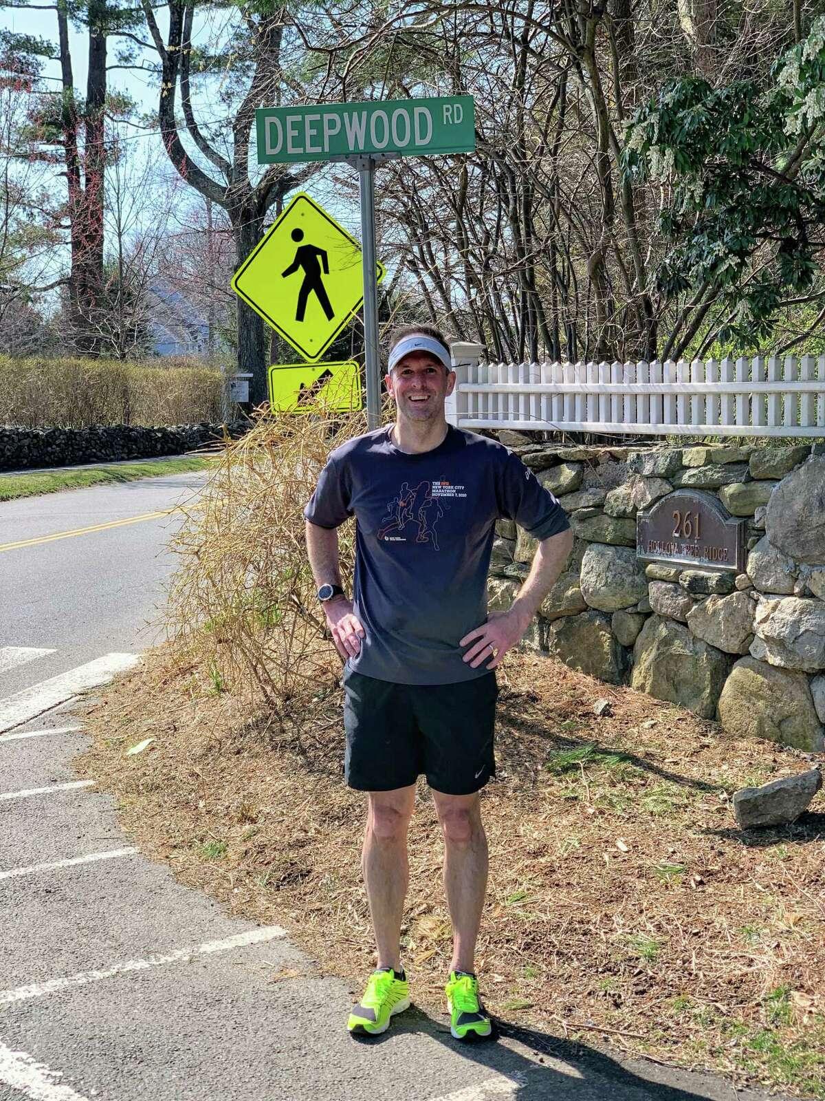 Darien resident Bill Ozanne has recently run through every street in town.