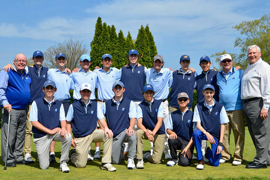 The Darien boys golf team raised $8.500 for the Folds of Honor Foundation during their annual charity tournament on May 2 at the Country Club of Darien.