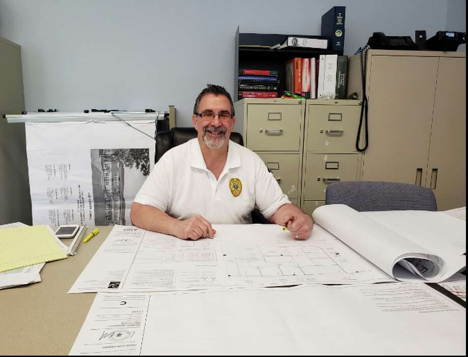 Bob Buch is Darien's fire marshal as well as a Darien fire fighter — Sandra Diamond Fox photo