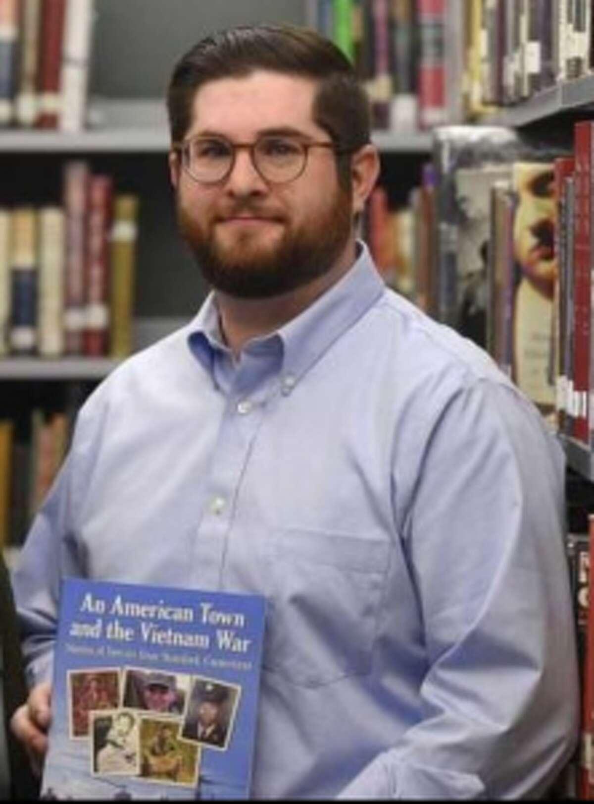 Matt Pavia has taught at Darien High School since 2003.
