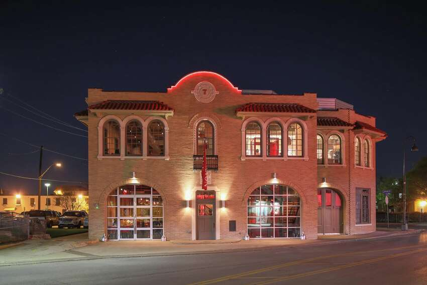 Local design firm Hilmy shared photos showing what 604 S. Alamo St. looks like now, as Battalion.