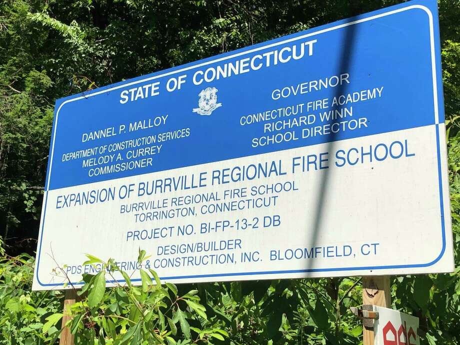 State bond funds of nearly $13.2 million were approved in 2016 to rebuild the former Burrville Regional Fire School. It was recently renamed the Litchfield County Regional Fire Training School, and opened in October 2018. This week, state representatives announced they had secured $410,000 for a soil remediation project at the new school. Photo: Leslie Hutchison / Hearst Connecticut Media /