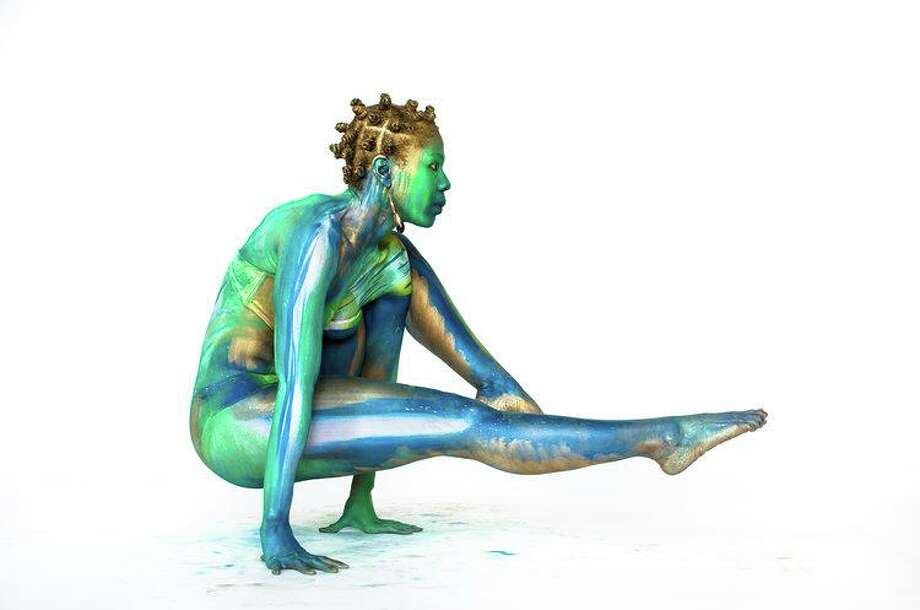 Alicia Cobb's body painting will be a featured event for the opening on July 5 of Palette of Sisterhood, a Stamford downtown pop-up art gallery that runs through July. Photo: Contributed Photo