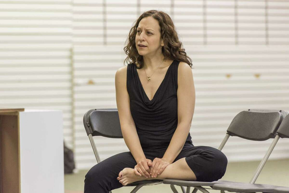 Soprano Jennifer Zetlan during rehearsals for