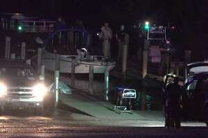 A crash reconstruction team is at the scene of boat collision that killed three people Sunday in Chambers County to try and piece together what happened. The process could take up to a week, depending on the amount of evidence that is collected.   Courtesy  OnScene.Tv